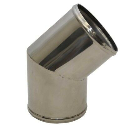 Corsa Boat Exhaust Elbow 11931U | Sea Ray 135 Degree 4 Inch Stainless