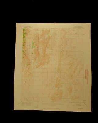The Barn Utah vintage 1962 original USGS Topographical chart