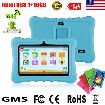 """Portable 7"""" Tablet Bluetooth Android7.1 4 Core 1GB+16GB 2Cam WIFI 2800Ah PC Pad"""