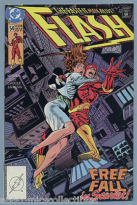 Flash #54 1991 Wally West William Messner-Loebs Greg LaRocque DC Comics