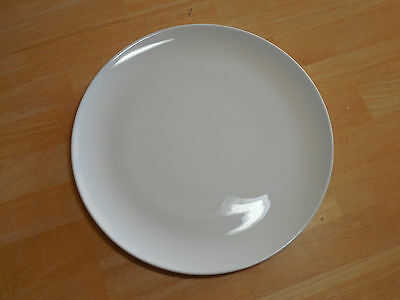"Corning CENTURA WHITE COUPE Dinner Plate 10 1/8"" Vintage    24 available"