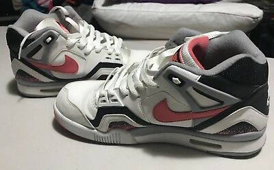 634d6048a34 Nike Air Tech Challenge II 2014 Agassi Hot Lava SZ 11 OG Sneakers Retro NR