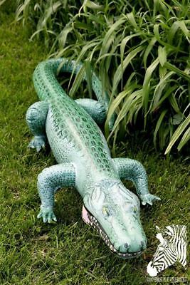 "62"" Realistic Inflatable Crocodile With Open Mouth (Discontinued - Last Ones!)"