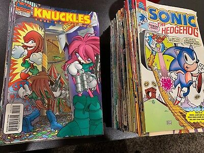 ARCHIE COMICS SONIC THE HEDGEHOG Mixed Comic Lot (#0-75) And More!!