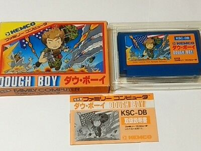 DOUGH BOY for Nintendo Famicom NES game Cartridge, manual, Boxed set-A-