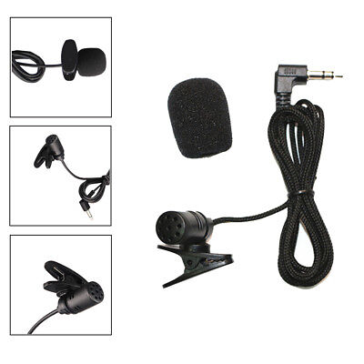 Universal Portable 3.5mm Mini Headset Microphone Lapel Lavalier Clip Microphone