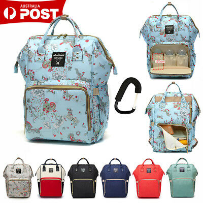 Mummy Maternity Nappy Diaper Bag Baby Changing Bag Travel Backpack Rucksack