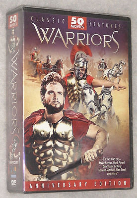 Warriors - 50 Films Legendary Mythique Épique Heroes Thor Hercules DVD Coffret