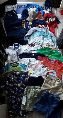 Massive Bundle Of Boys Clothes 2-3years #359 NEXT ANGRY BIRDS OLAF TED BAKER