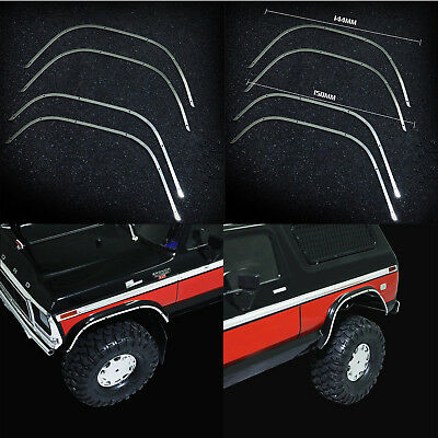 Metall Radlauf Kotflügel Dekoration Strip Guard Für Traxxas TRX4 Ford Bronco RC