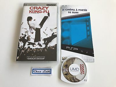Crazy Kung-Fu - UMD Video - Sony PSP - FR/EN/GER/CN