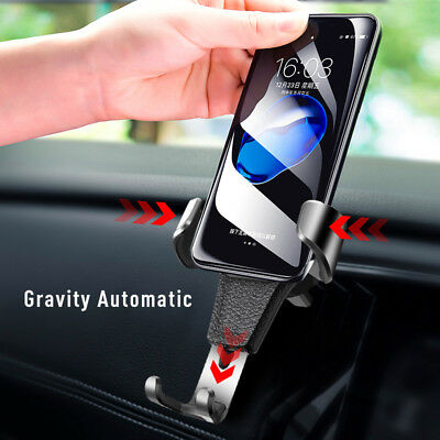 Gravity Car Phone Holder Air Vent Mount Stand for iPhone X/XS/XS MAX Samsung S9