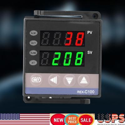 REX-C100 Digital PID Temperature Controller Thermostat RELAY output REX-C100 USA