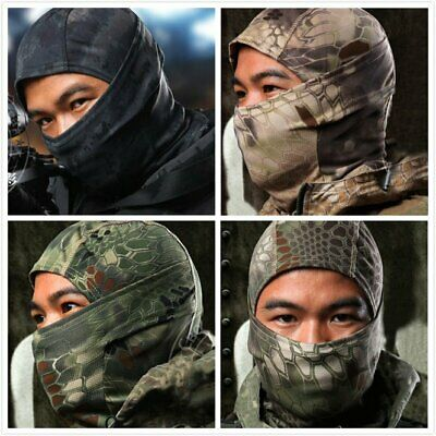 Balaclava Airsoft Camouflage volle Gesicht Cover Hood Maske Paintball Skirmish