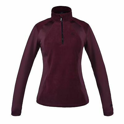 Kingsland Micro-Fleece Pullover Melody mit Reißverschluss Red Port Royal Gr. L