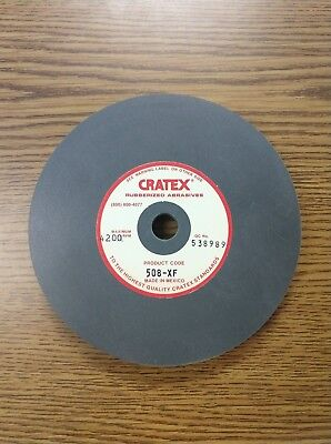 """Cratex 6"""" Disc. 508XF. Extra Fine Surface Straight Grinding Wheel"""