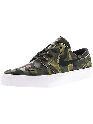 low priced 5a7a7 31157 Nike Men s Zoom Stefan Janoski Premium Ankle-High Leather Skateboarding Shoe