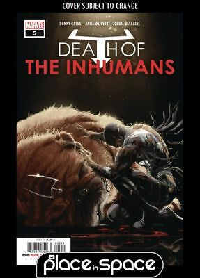 Death Of The Inhumans #5A (Wk45)