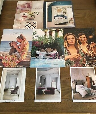 anthropologie catalog lot
