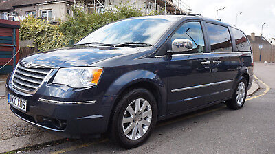 Chrysler Grand Voyager 2.8CRD auto Limited Black leather