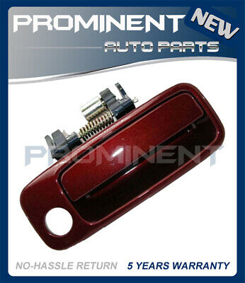 Door Outside Handle  Vintage Red Pearl Front Right For 97-01 Toyota Camry