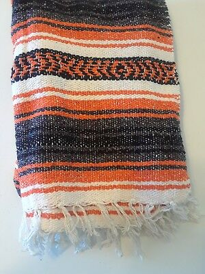 Authentic Mexican Falsa Throw Blanket