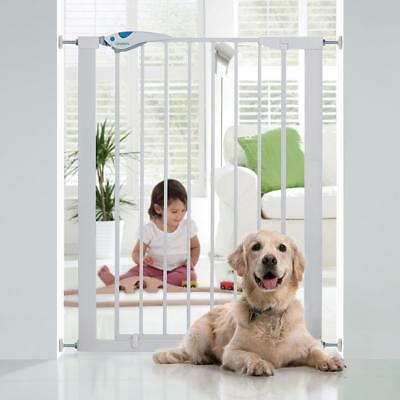 Pet Dog Easy Fit Extra Tall High Pressure Safety Gate Indoor Barrier Fence Door