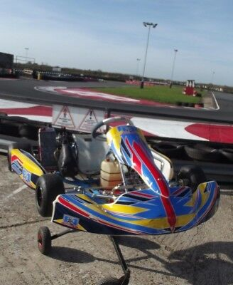 Championship winning 2017 Alonso Chassis with Junior Rotax Engine