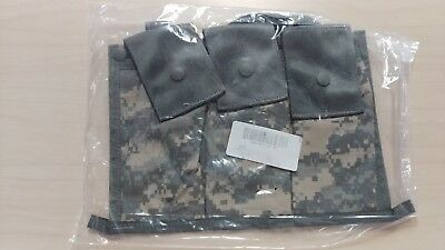 US Military MOLLE II 6 Mag 5.56 ACU Bandoleer Ammo Pouch