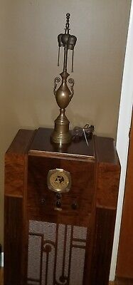 Antique Mission ~ Arts and Crafts ~ Brass ~ Table Lamp