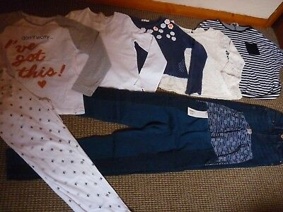 1350b8cc3315 GIRLS NEXT NEW Look River Island jeans jegging top Clothes Bundle ...