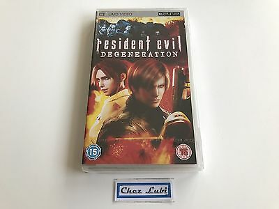 Resident Evil Degeneration - UMD Video - Sony PSP - EN/IT - Neuf Sous Blister