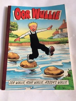Oor Wullie Comic Book Annual From 1996 By D.c Thomson & Co
