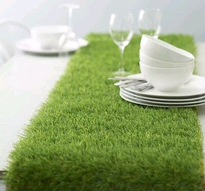ARTIFICIAL GRASS TABLE RUNNER (30cm ×1.9m) Large