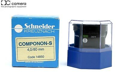 Schneider Componon-S 80mm f4 Enlarging Lens with Box  #28223