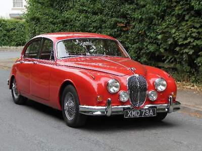 1963 Jaguar MKII 3.8 Manual with Overdrive