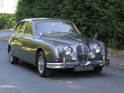 1964 Jaguar MKII 3.4 Manual with Overdrive