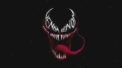 Venom Movie Bedroom Wall A3 Size Poster Gift Boys Men Decoration Man Cave