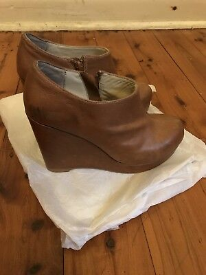 Wittner Leather Wedges Shoes