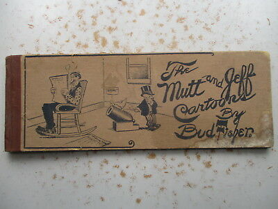 The Mutt and Jeff Cartoons by Bud Fisher - FIRST Hardcover Book 1911