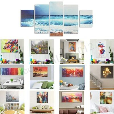 Abstract Modern Oil Painting Art Unframed Canvas Print Wall Home Decor