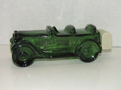 Vintage Avon Maxwell '23 Tribute After Shave 6Fl Oz. Green Car Vehicle Decanter