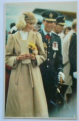 Postcard-Royalty.new Zealand.charles Wearing The Uniform Of The Nzaf At Wigram