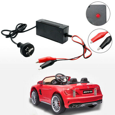 AU EU Battery Charger Maintainer 6V 1 Amp Volt Trickle RV Car Truck Motorcycle