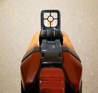 Nerf Blaster Tactical Reflexive/Holographic Style Sight - 3D Printed Iron Sight