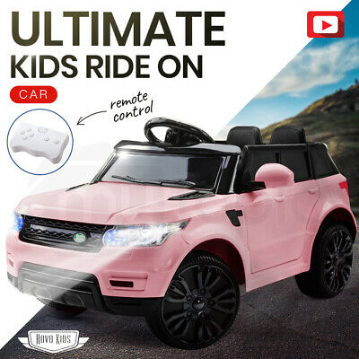 NEW ROVO KIDS Ride-On Car MERCEDES G65 Inspired Electric Toy Battery Remote Pink