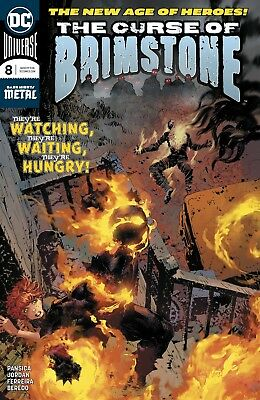 Curse Of Brimstone #8 Dc Comics Near Mint 11/7/18