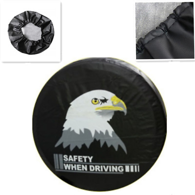 13'' 14'' 15'' 16'' 17'' Vulture Spare Wheel Tire Tyre Cover Soft for All Car