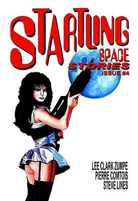 148 STARTLING SPACE STORIES #4 Rainfall chapbook. Science Fiction tales