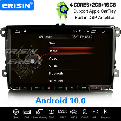 "9"" Android 8.1 DAB+ Navi Car Stereo For VW Golf Polo Amarok Passat Sharan Tiguan"